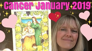 Cancer January 2019 * Moving Towards Happy Ever After!