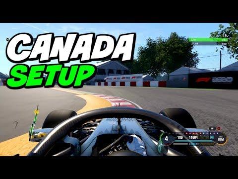 F1 2018 CANADA HOTLAP + SETUP (1:07.401)