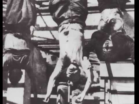 1945 Mussolini Hanged