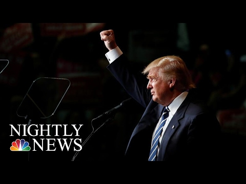 President-Elect Donald Trump Takes Victory Lap At Indiana Carrier Plant | NBC Nightly News