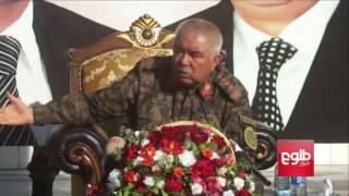 Dostum Warns Soldiers Against Negligence / دوستم از غفلت در وظیفه به سربازان هشدار داد