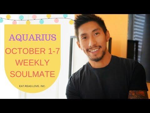 """AQUARIUS SOULMATE """" MAN VS BUS """" OCTOBER 1 7 WEEKLY TAROT READING"""