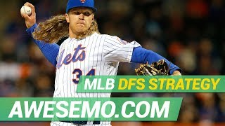 MLB DFS Strategy - Sun 5/19 - DraftKings FanDuel Yahoo - Awesemo.com