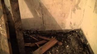 Ремонт полов в старом фонде. Гидроизоляция, профнастил, керамзит, сетка, арматура, стяжка.