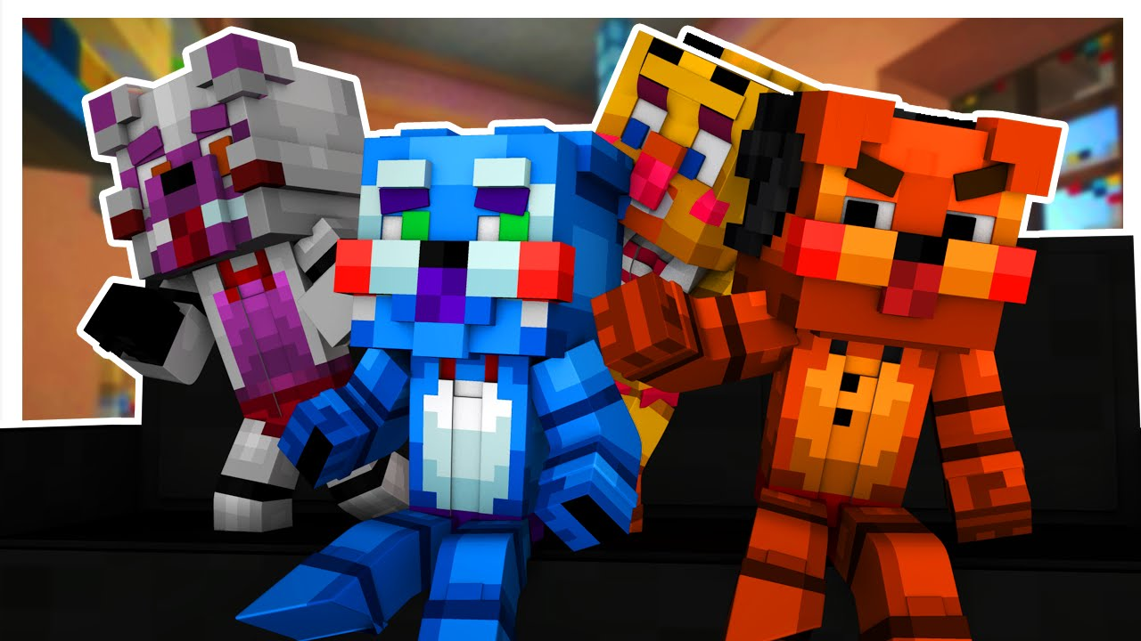 Minecraft Toy Freddy : Baby toy five nights at freddy s minecraft who your