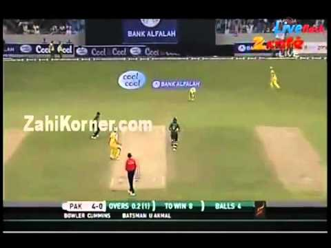 Aus v Pak t20 - Super over- Full Replay