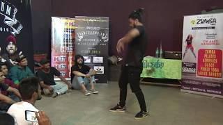 Shubhankar Hectik Art Of Freestyle Teri Deewani Kailash Kher  Project Dancellennium