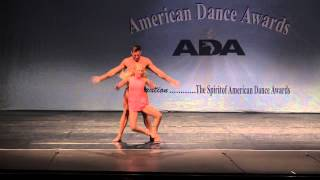Contemporary dance duet _ Set me Free (Alex and Sierra)