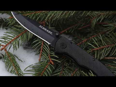 NEW! Schrade SCH401LALC Liner Lock Folding Knife – Best Liner Lock Folding Knife