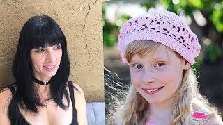 Вязание крючком шапочки - шапочка для девочки