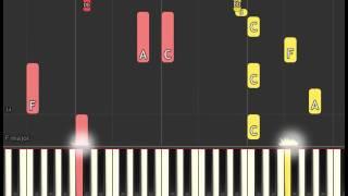 Westworld Soundtrack: No Surprises (Piano sheet & Synthesia)