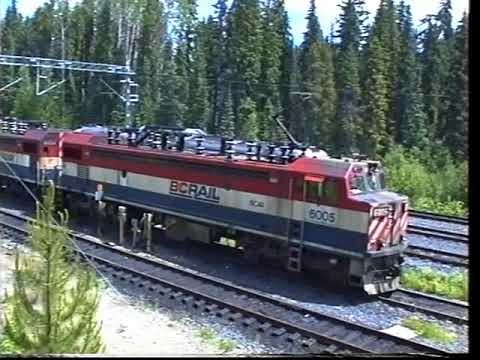 BC Rail - Prince George To Fort St John By RDC