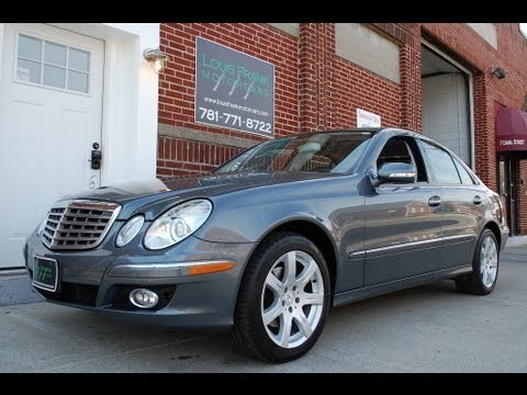 2007 Mercedes Benz E350 4Matic Walkaround Presentation At Louis Frank  Motorcars In HD
