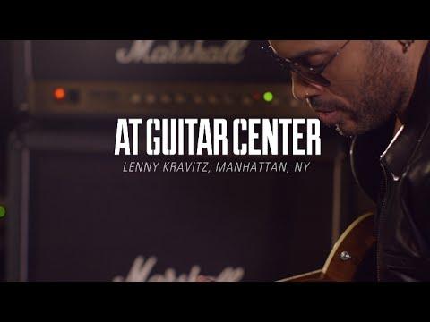 Lenny Kravitz At Guitar Center