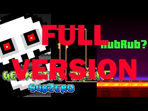 Geometry Dash SubZero/2.2 Beta: SubZero Levels FULL VERSION (Press Start, Nock Em, Power Trip)