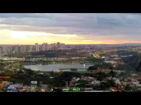 Pôr do Sol em Curitiba da Torre Panorâmica
