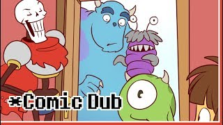 Comic Dub   Monsters In The Closet   Undertale