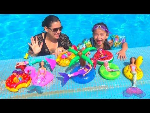 POOL PARTY DE SIRENAS | PISCINA Y PLAYA | ALBERCA Y MAR | BARBIE | FIESTA DE PISCINA | MERMAID