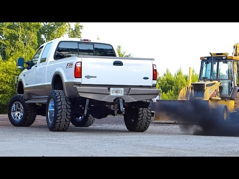 6.0 Powerstroke straight pipe compilation - Part 1