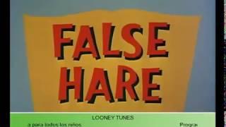 Bugs Bunny - Lobo Por Liebre False Hare 936