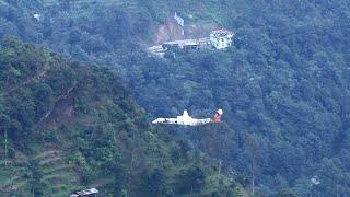Mind Blowing Visual Of Flight Landing At Pakyong Airport