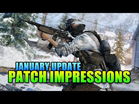 January Patch First Impressions | Battlefield 5