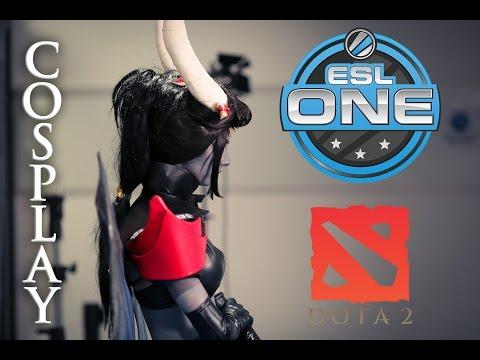 ESL One Dota 2 Cosplay - Frankfurt June 2015