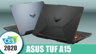 Super herní notebooky pro studenty - ASUS TUF A15/A17 | CES 2020