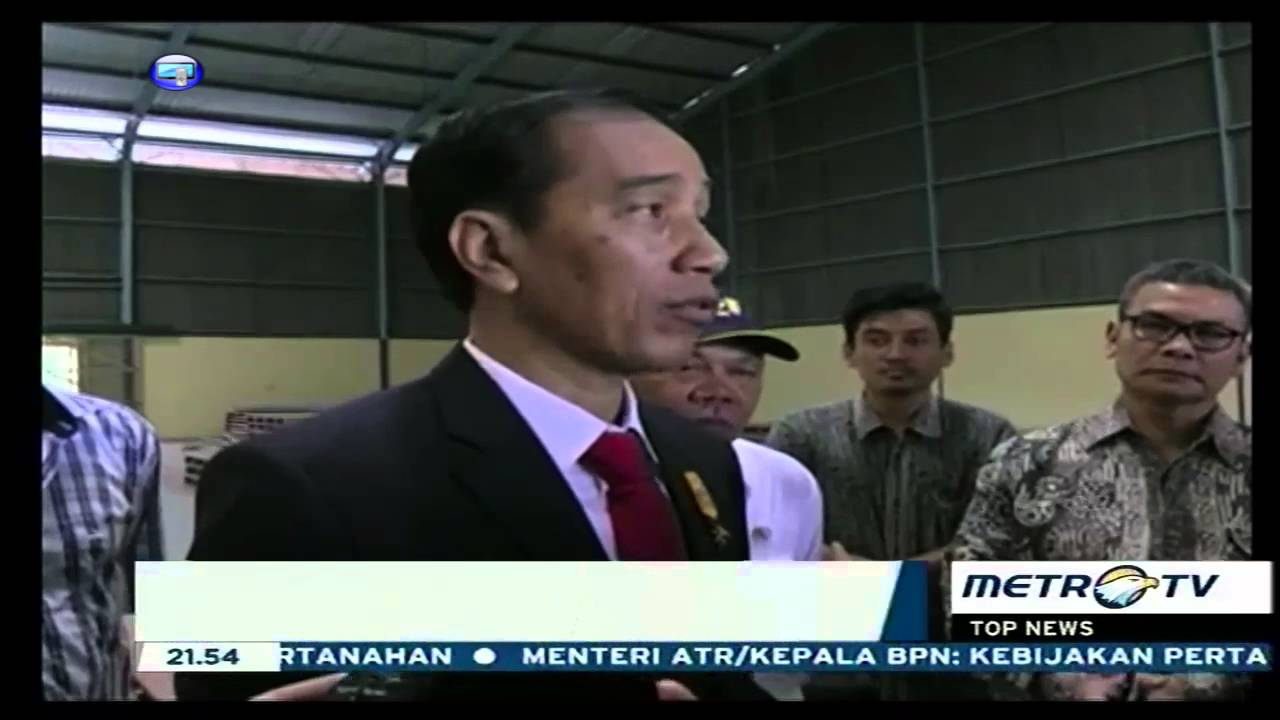 Tinjau Gudang Bulog Jokowi Marah Youtube