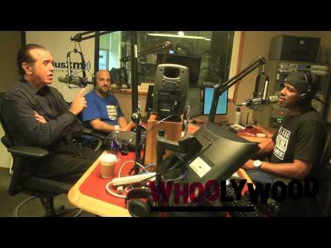 CHAZZ PALMINTERI vs DJ WHOO KID on the WHOOLYWOOD SHUFFLE on SHADE 45