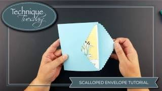 Scalloped Pull Strip Die Tutorial - Tips & Technique Video Mp3