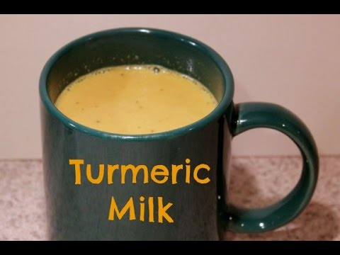Turmeric Milk For Weight Loss & Detox ( Body Swelling, Glowing Skin & Asthma Problem) ( Golden Milk)