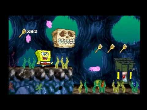 SpongeBob SquarePants SuperSponge (PS1) (6) Cavernous Canyons