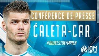 La première conférence de presse de Duje CALETA-CAR