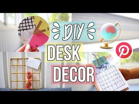 DIY AG DESK DECOR! | American Girl Doll Desk Decor Pinterest Inspired!