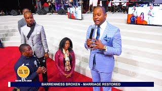 SHOCKING!! A SPY Husband Hiding in the Crowd LOCATED by Pastor Alph Lukau