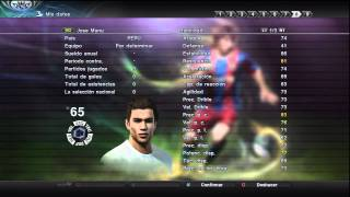 PES Pro Evolution Soccer 2011 Ser una Leyenda (Become a Legend)