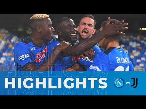 HIGHLIGHTS | Napoli - Juventus 2-1 | Serie A - 3ª giornata