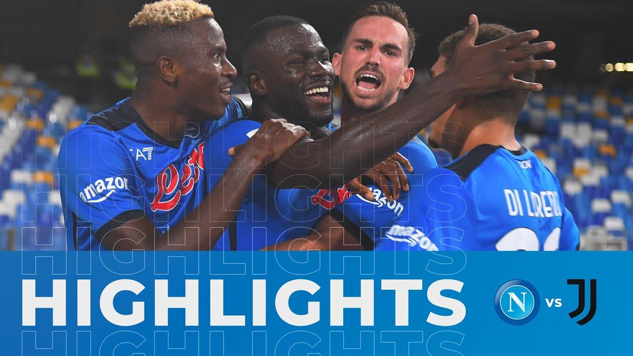 Download HIGHLIGHTS   Napoli - Juventus 2-1   Serie A - 3ª giornata