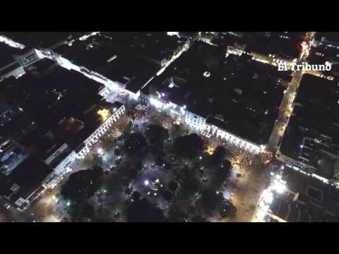 Mirá lo que fue la marcha en contra del 2x1 a genocidas en la plaza 9 de Julio