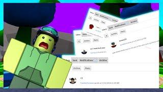 roblox message simulator