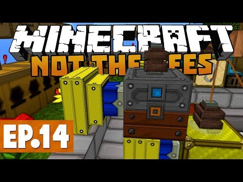 Minecraft Not The Bees  FREE BEE POWER! #14 Clockwork Bees