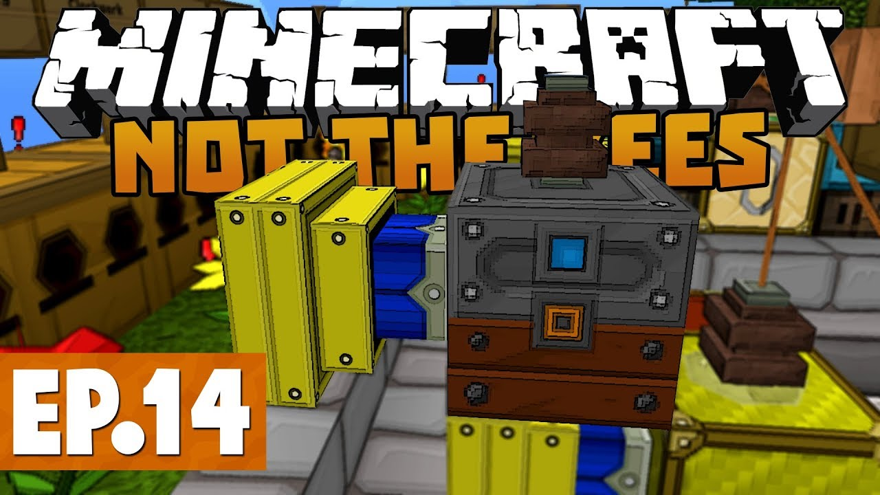 Minecraft Not The Bees - FREE BEE POWER! #14 [Clockwork Bees]