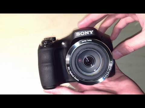 SONY DSC H300 Camera unboxing and review (4K)