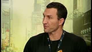 Wladimir Klitschko - uncensored, outspoken Dr Steelhammer interview