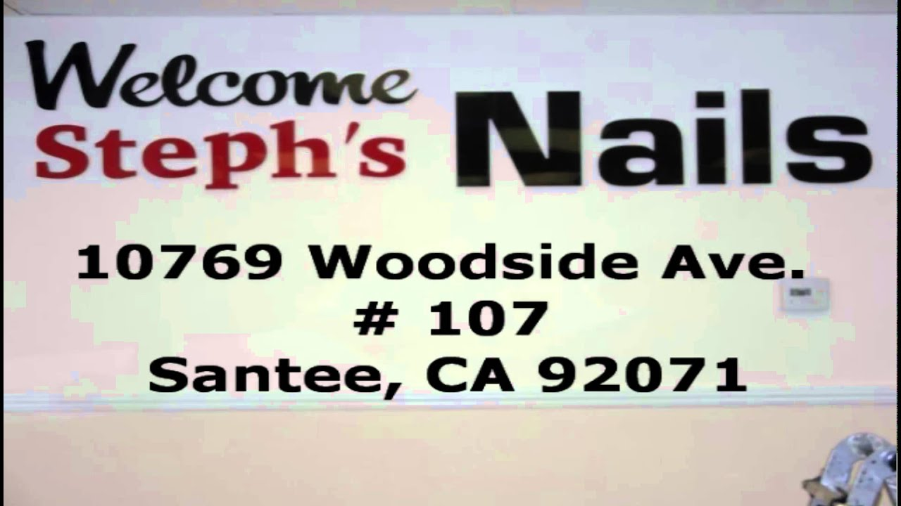 Steph\'s Nails - Grand Opening - YouTube