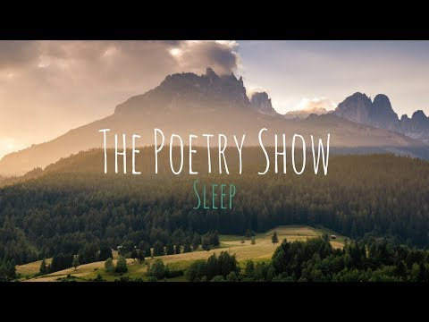 The Poetry Show Podcast | Sleep ft. Neil Cathan