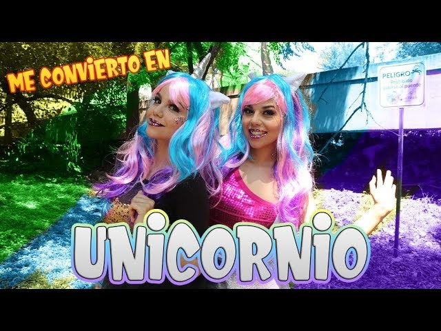 Me Convierto en Unicornio - Dulcy UNICORNIO / Gaby y Gilda
