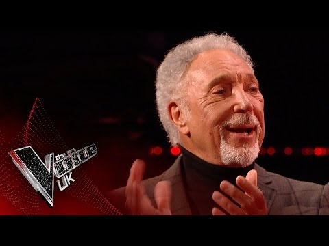 Sir Tom Jones Belts Out Great Balls of Fire! | The Voice UK 2017
