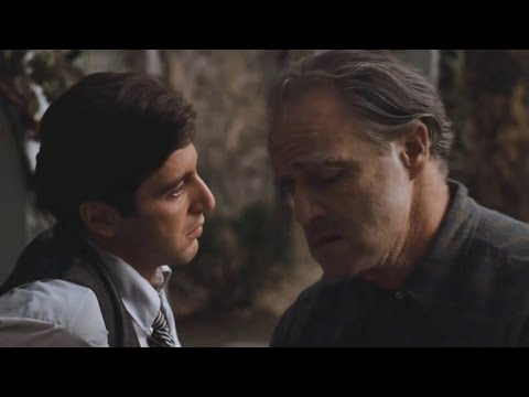 The Godfather - Marlon Brando and Al Pacino (Vito and Michael) | FullHD